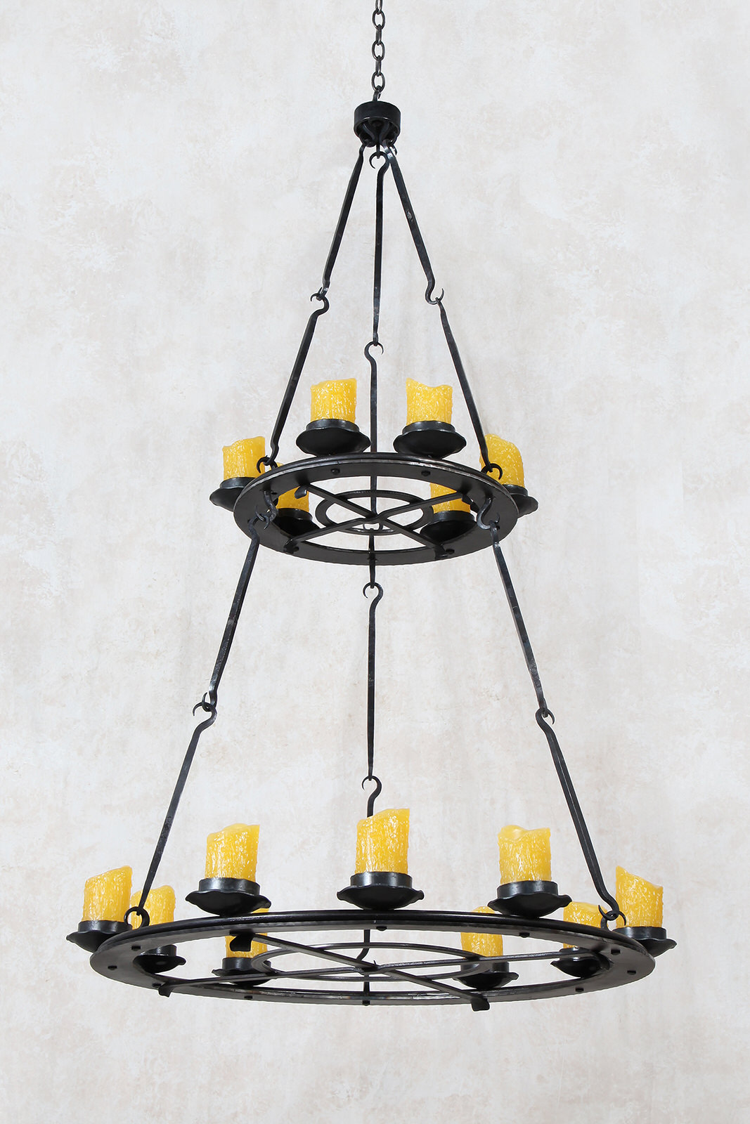 Spring Creek Two-Tier Chandelier