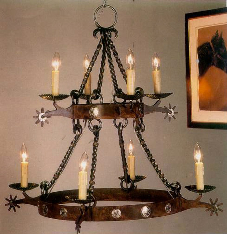 Spur Two-Tier Chandelier
