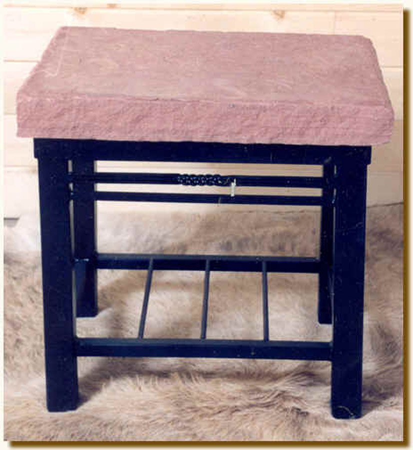Square Leg End Table