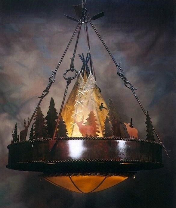 tipi-chandelier