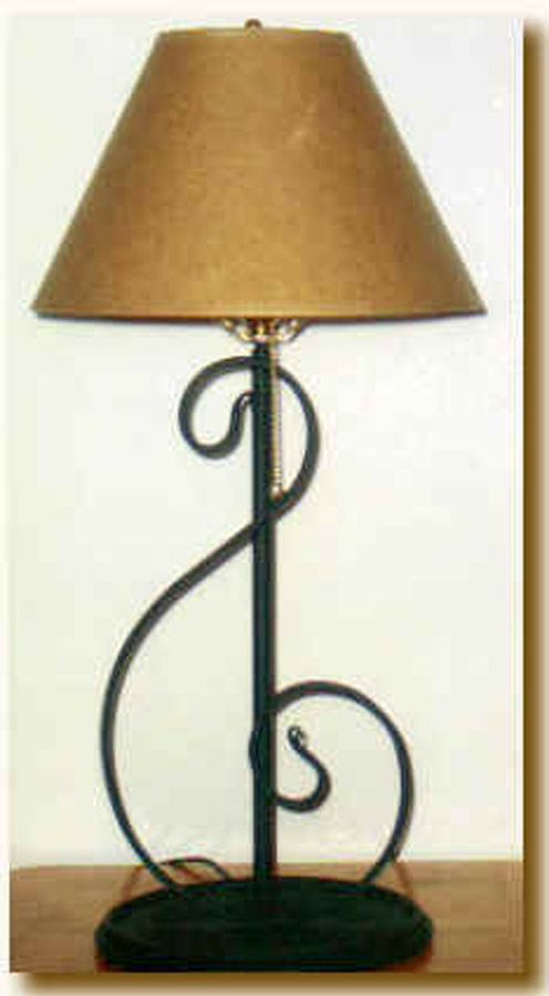 Treble Clef Table Lamp