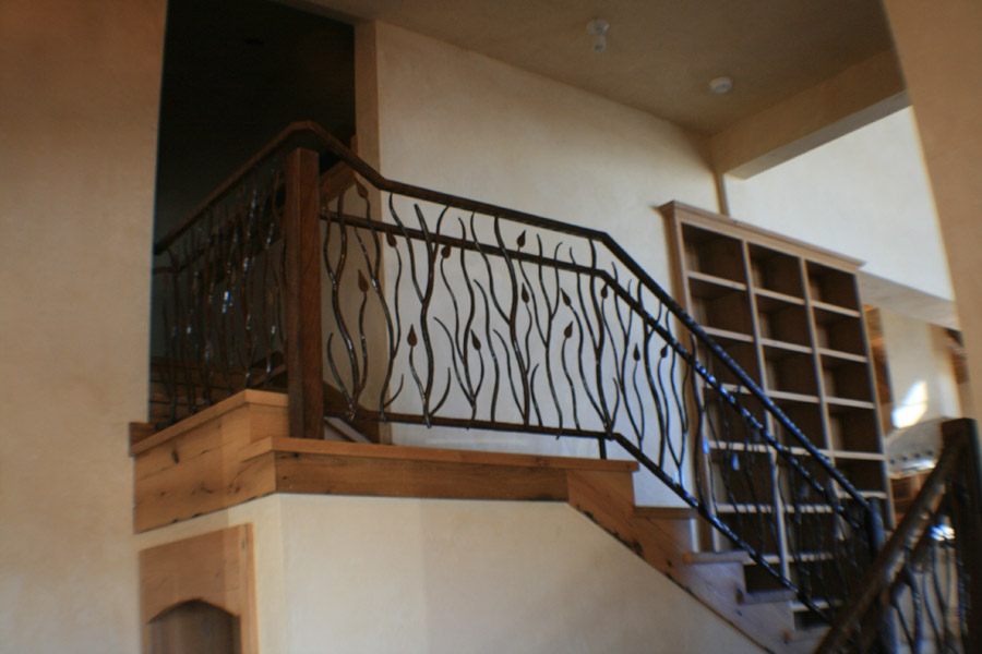 Twig And Leaf Handrail