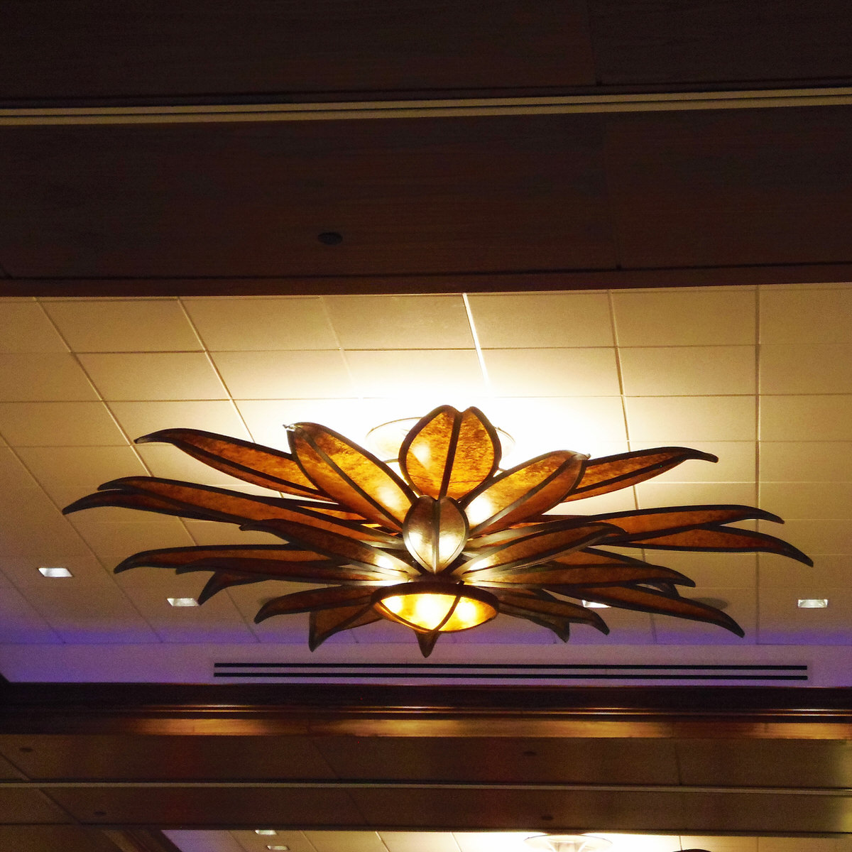 Brown Eyed Susan Chandelier