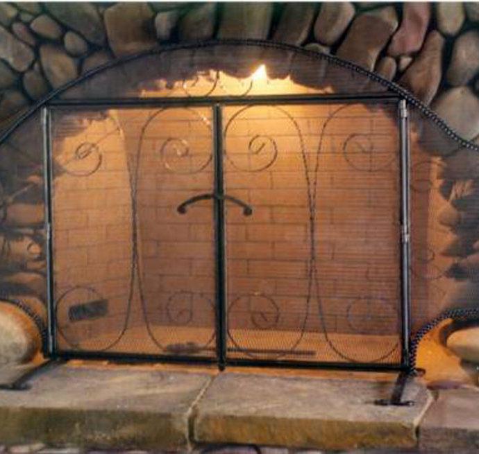 Wyoming Fireplace Screen