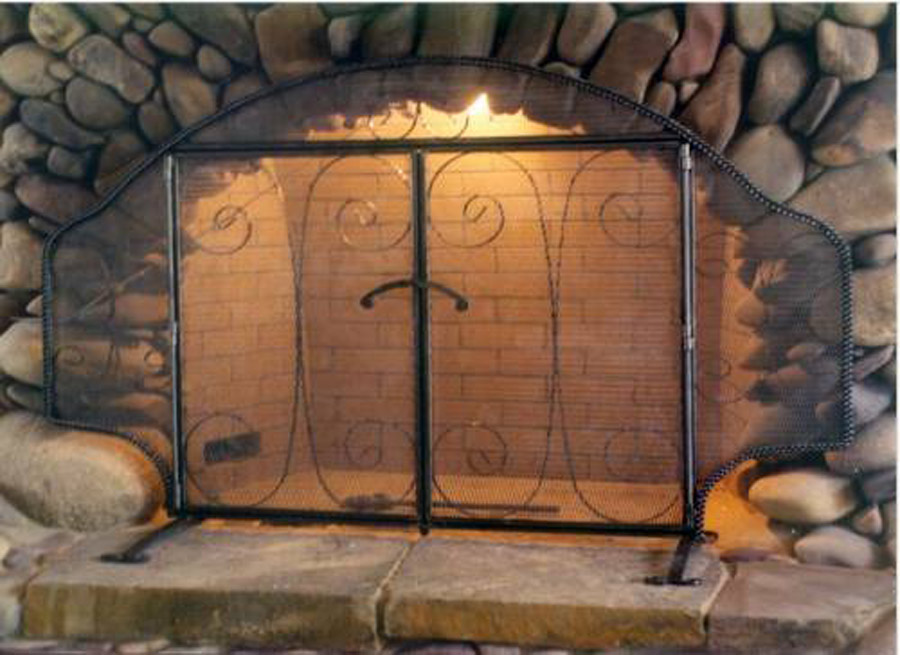 Wyoming Fireplace Screen