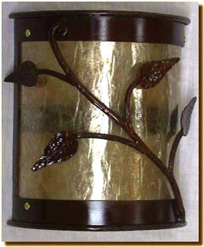 Twig And Leaf Wall Sconce