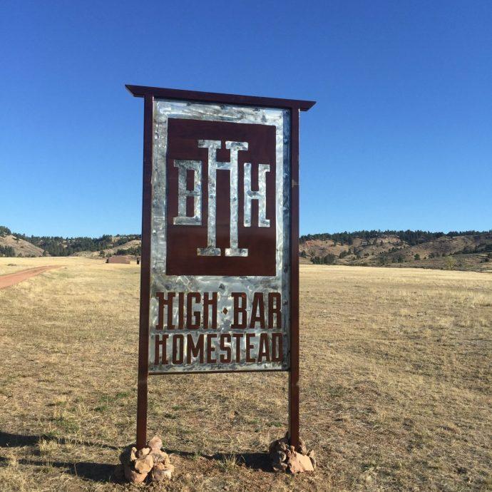 High Bar Homestead sign A2