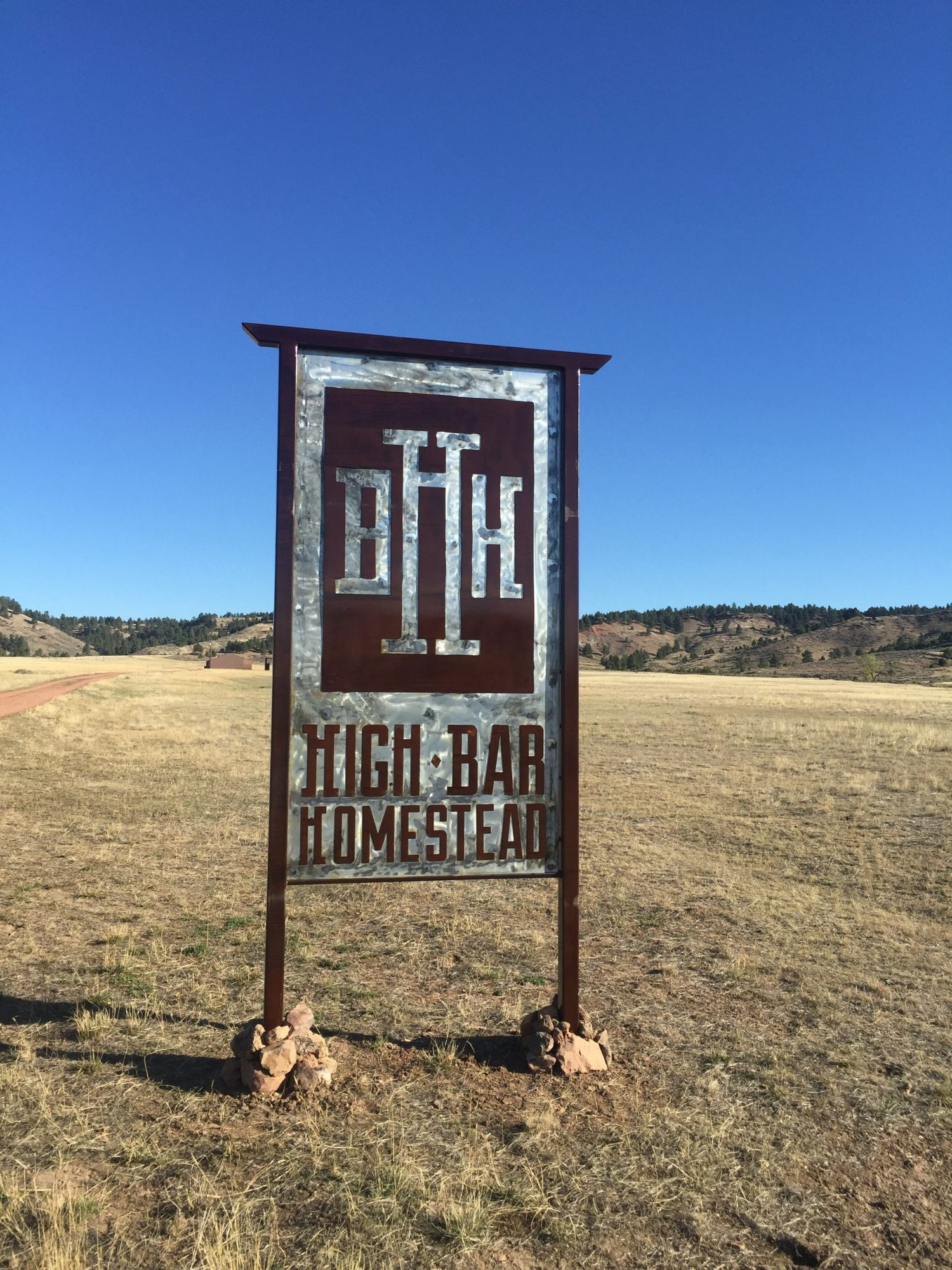 High Bar Homestead Sign