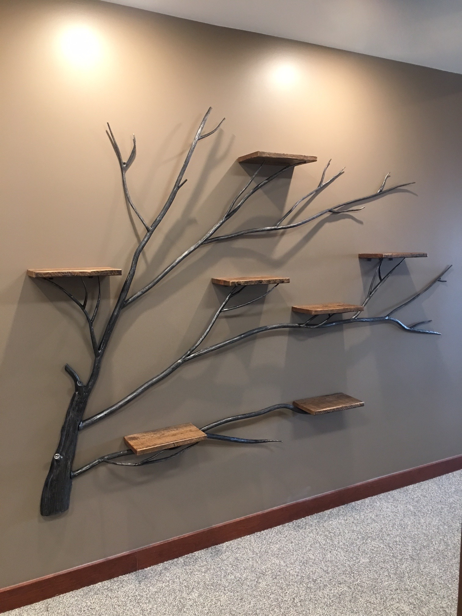 Tree Of Life Wall Shelf