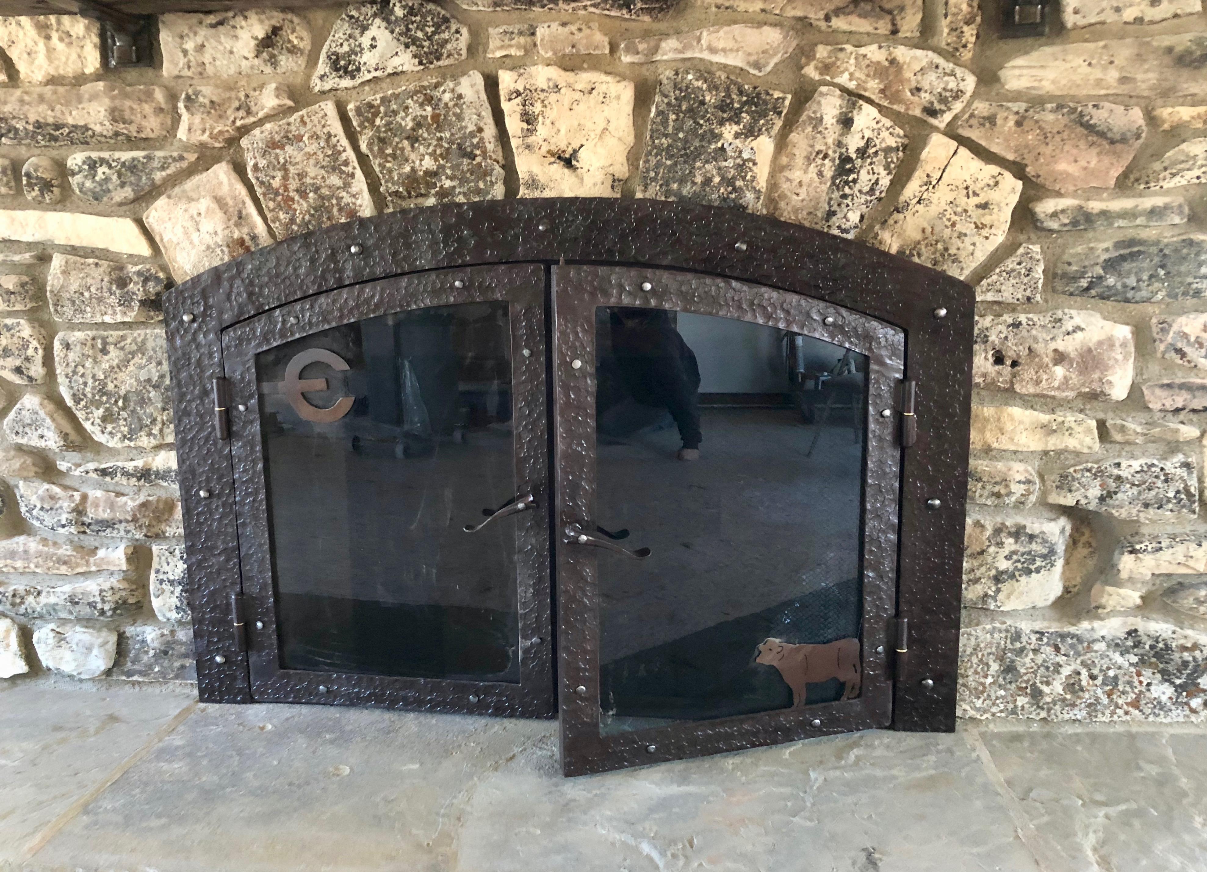 Branded Fireplace